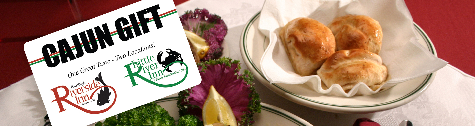 Mail Gift Cards - Seafood Image